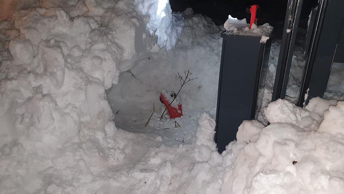 28.01.2021 - Schneeschaufeln